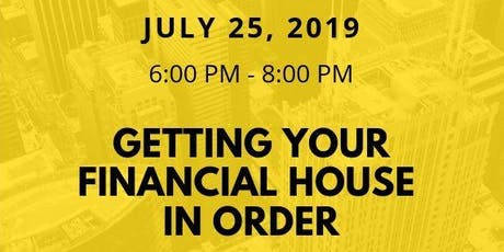 Getting Your Financial House in Order tickets