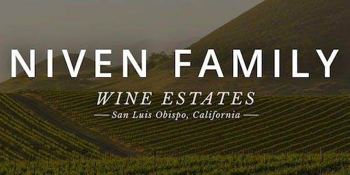 Wine Tasting with Niven Family Wine Estates