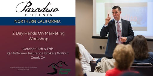N. California  Paradiso Presents 2 Day Workshop to Support Journey Found