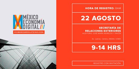 México Economía Digital 2019, Powered by Futurecasting (Abierto) entradas