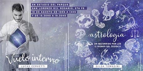 Vuelo Interno y/o Astrología - Lucas Cervetti y Gilda Tomasini (Rosario, Argentina) entradas