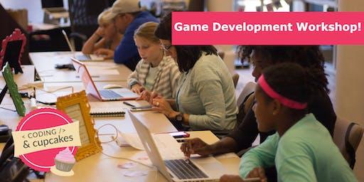 Coding & Cupcakes August: Game Development 1 Workshop