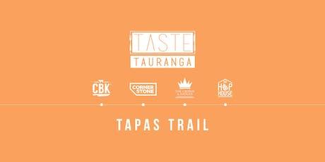 Taste Tauranga Tapas Trail - Sunday tickets