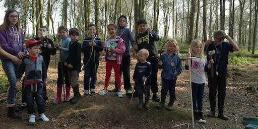 Gamecraft woodland activity day for  6-11yrs Brandy Hole Copse, Chichester