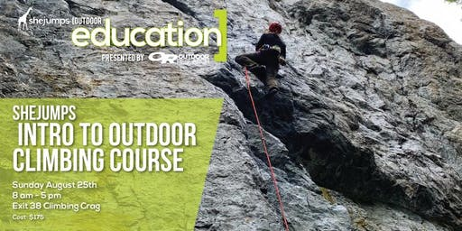 WA SheJumps Intro to Outdoor Climbing Course