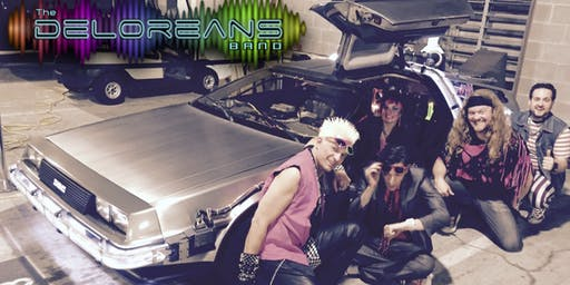 The Deloreans 80s Band Return to The Vanguard