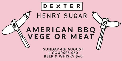 American BBQ Meat vs Veg with Dexter