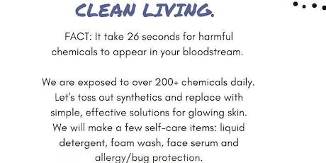 CLEAN LIVING tickets