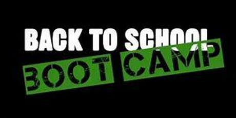 Back 2 School Boot-Camp 6th-10th Grade (Roswell,GA Campus) tickets