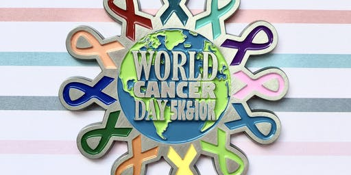 Now Only $15! World Cancer Day 5K & 10K -Charleston