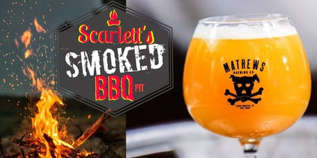 Scarlett's BBQ Full Moon Fever Festival @Mathews Brewing Company. tickets
