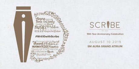 #Writ10withScribe tickets