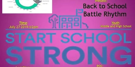 Battle of The Rhythm: Starting School Strong tickets