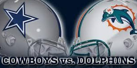 September 22, 2019, Miami Dolphins at Dallas Cowboys tickets