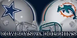 September 22, 2019, Miami Dolphins at Dallas Cowboys