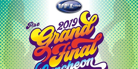 The 2019 VFL Club Grand Final Luncheon tickets