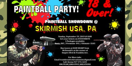 TKK presents Paintball Party Bus tickets