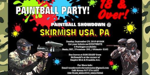 TKK presents Paintball Party Bus