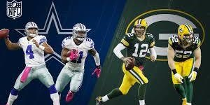 October 6, 2019, Green Bay Packers at Dallas Cowboys