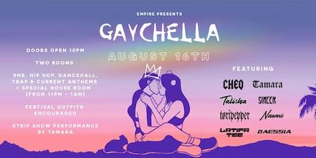 GAYCHELLA 2019 tickets