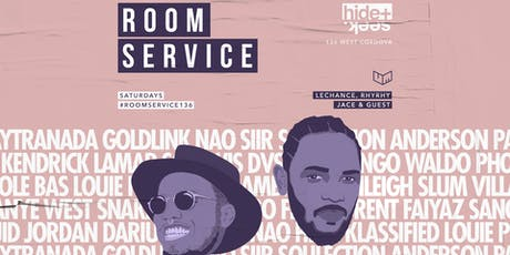 HIDE + SEEK presents Room Service Aug 3 tickets