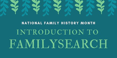 Introduction to FamilySearch - Noarlunga Library tickets