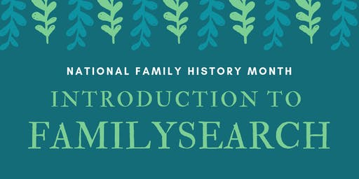 Introduction to FamilySearch - Aldinga Library