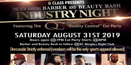 G. Class Barber & Beauty Industry Night tickets