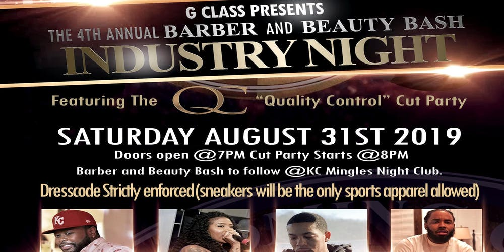 G  Class Barber & Beauty Industry Night Tickets, Sat, Aug 31, 2019