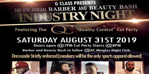 G. Class Barber & Beauty Industry Night