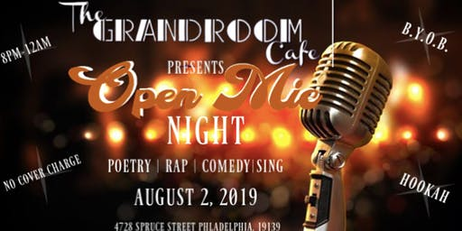 Open Mic Night By The Grandroom Cafe