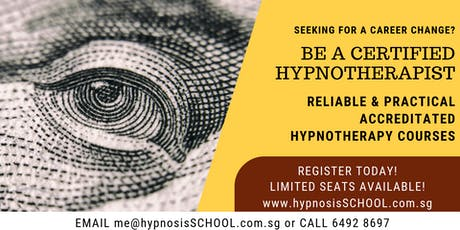 Practitioner Certificate in Hypnotherapy tickets