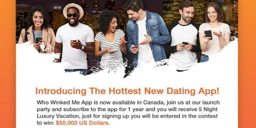Who Winked Me Dating and Social App Launch Party!