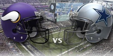 November 10, 2019, Minnesota Vikings at Dallas Cowboys tickets