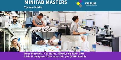 Curso Minitab Masters Tijuana