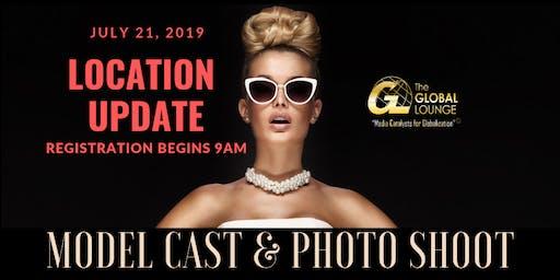 The Global Lounge Magazine Model Cast & Photo Shoot