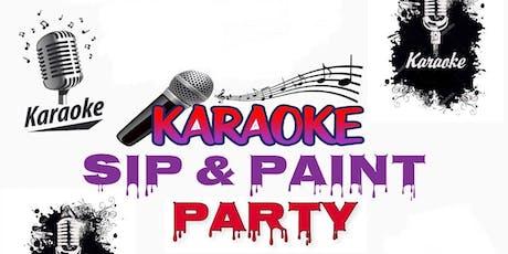 Karaoke Sip & Paint Party tickets