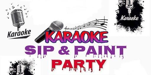Karaoke Sip & Paint Party