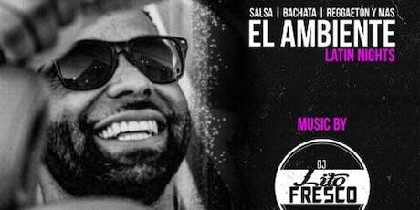 EL AMBIENTE LATIN NIGHTS @ AMBIANCE LOUNGE SACRAMENTO tickets