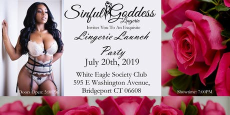 Sinful Goddess Lingerie Launch Party tickets