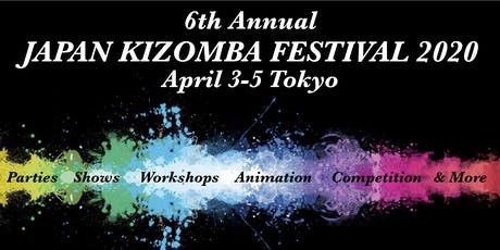 6th Japan Kizomba Festival 2020 tickets