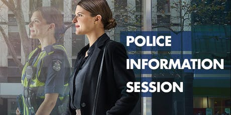 Police Information Session - August tickets