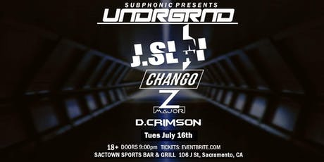 UNDRGRND W/ J.Slai, Chango, Z-Major & More! tickets