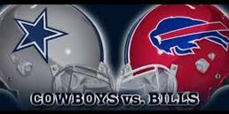 November 28, 2019,  Buffalo Bills at Dallas Cowboys tickets