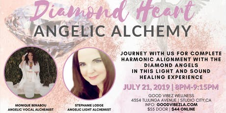DIAMOND HEART ANGELIC ALCHEMY  WITH MONIQUE BENABOU AND STEPHANIE LODGE tickets