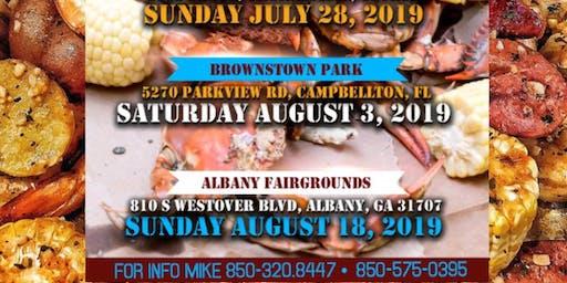 ALBANY GEORGIA SeaFood Festival Sun August 18  @ FAIRGROUNDS