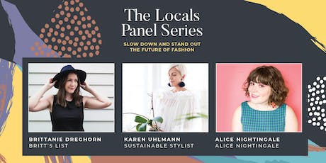 The Locals Panel Series - The Future of Fashion tickets