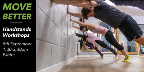 Handstand Workshop Exeter (Suitable for Beginners) tickets