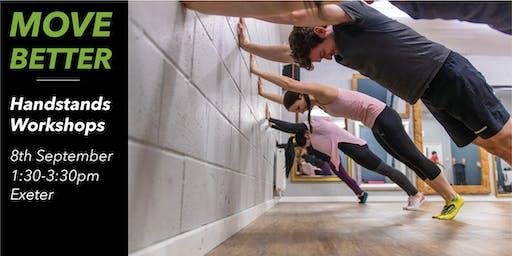 Handstand Workshop Exeter (Suitable for Beginners)