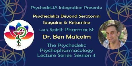 Psychedelics Beyond Serotonin: Ibogaine & Ketamine entradas